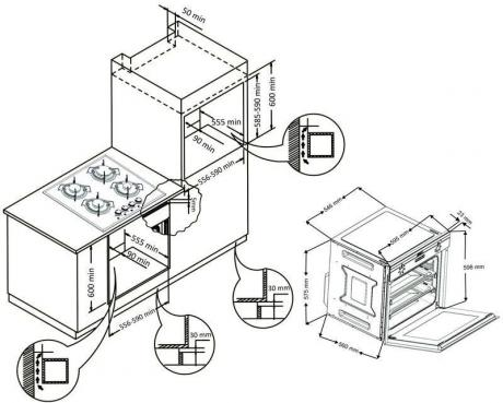 Духовой шкаф OMO 201.00 (Inox)