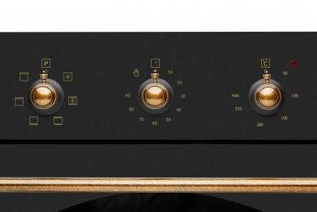 Духовой шкаф OFA 102.01 (Black Rustic)